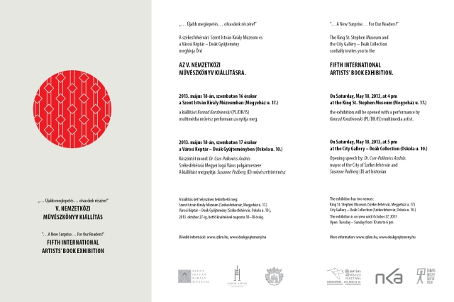 invitation_artists' book hungary